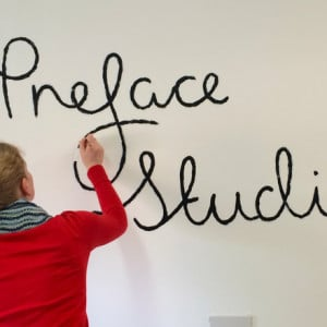 Painting the Preface wall