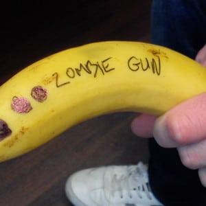 Banana zombie gun