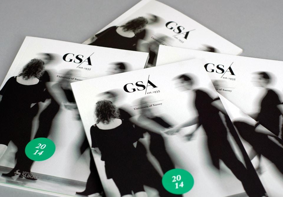 Pile of GSA prospectus'