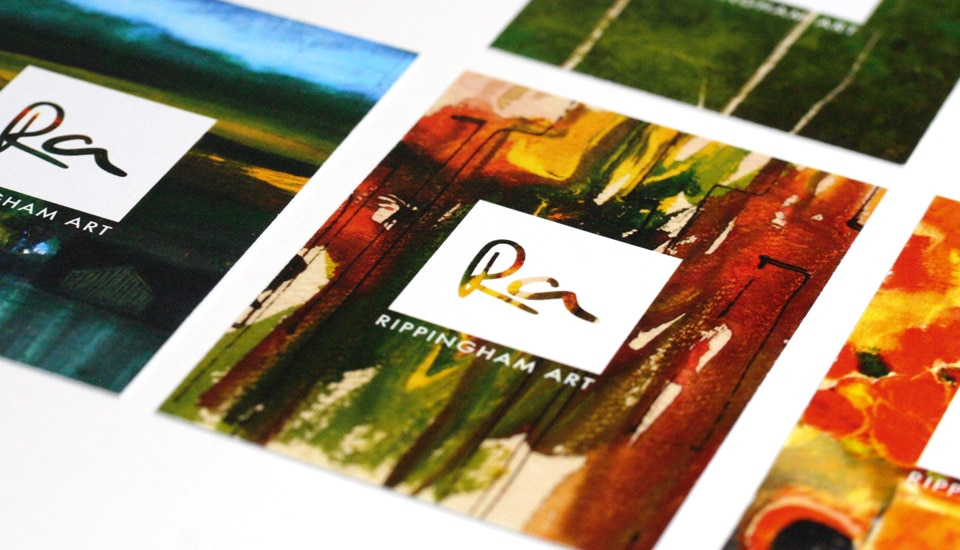 Photographic business cards