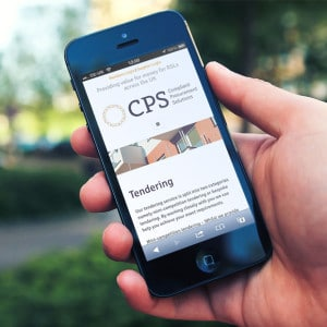 CPS website on mobile