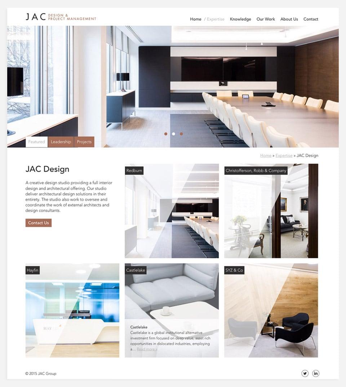 JAC design page