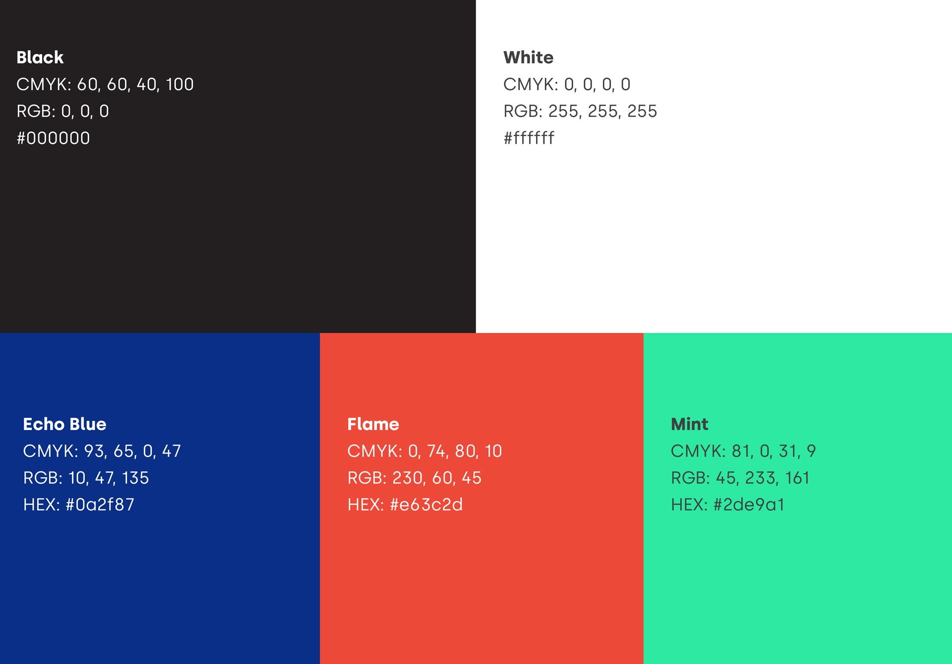 Branding Colours