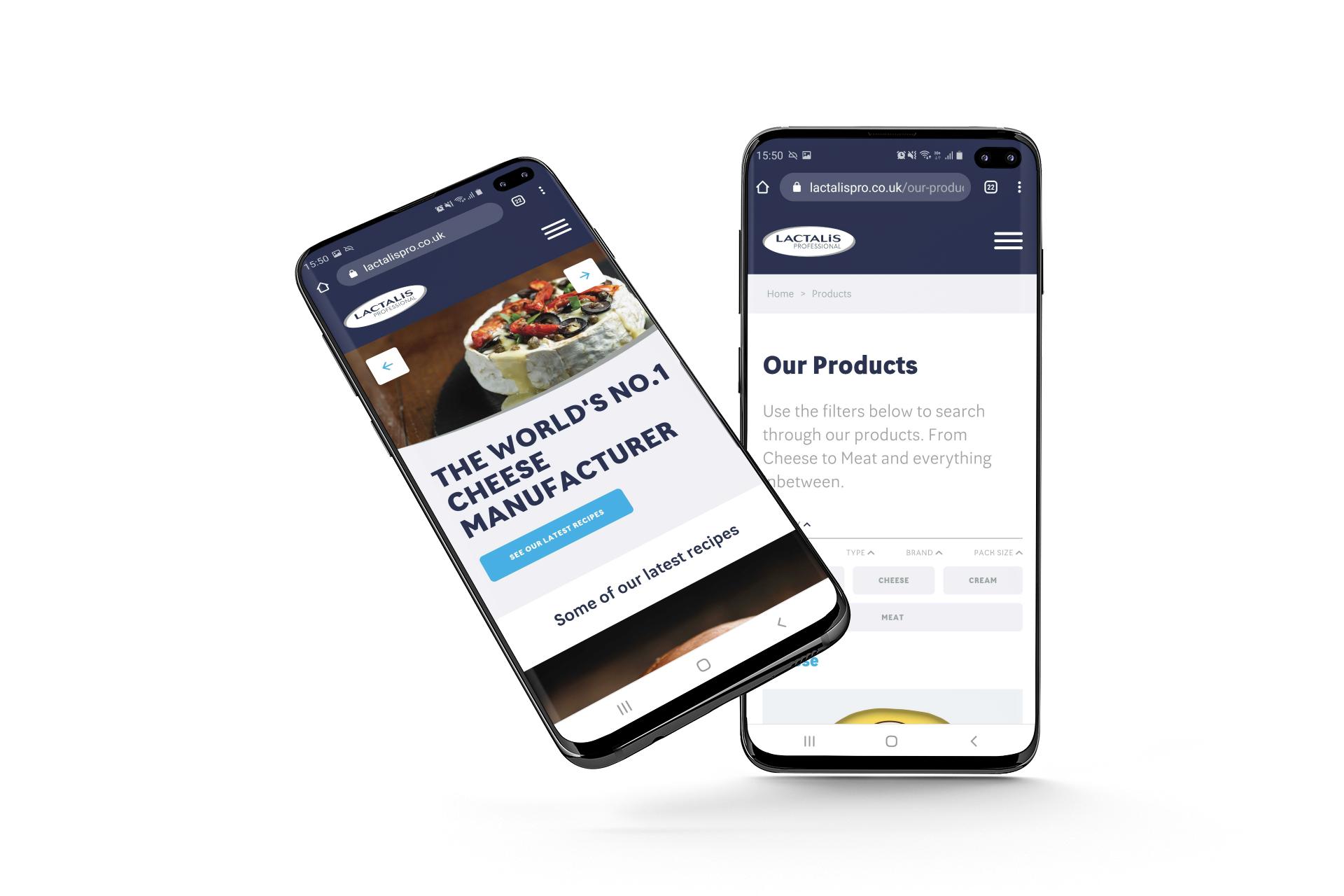 Lactlais Web Design Samsung Samsung Galaxy S10