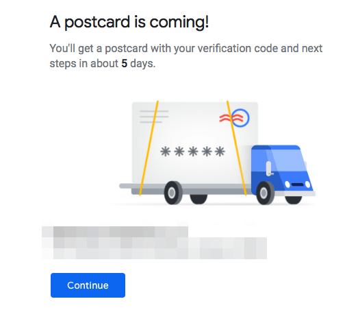 Google Postcard